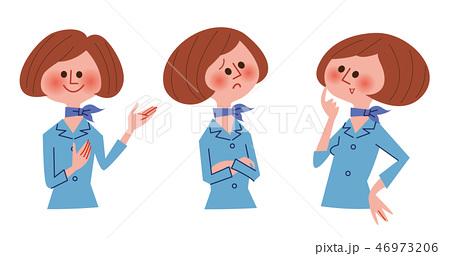 ビジネス 女性バリエーション 46973206