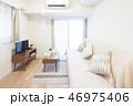 テレビ ソファ インテリアの写真 46975406