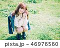 女性 若い ポートレートの写真 46976560