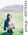 女性 若い ポートレートの写真 46976564