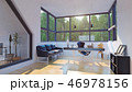 オフィス インテリア 空間のイラスト 46978156