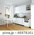 キッチン 厨房 台所のイラスト 46978161