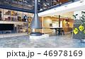 modern loft interior 46978169