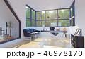 オフィス インテリア 空間のイラスト 46978170