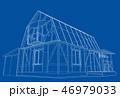 住宅 立体 3Dのイラスト 46979033