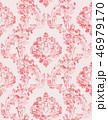 ベクター ビクトリア朝 花柄のイラスト 46979170