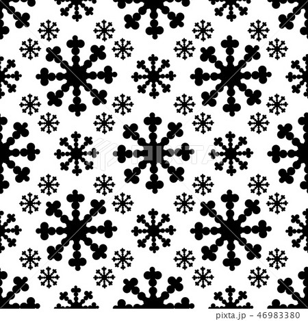 seamless pattern with big flake. vector 46983380