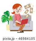 お金儲け 投資 ベクターのイラスト 46984105