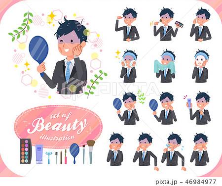 Gray suit businessman Bad condition_beauty 46984977