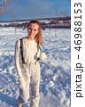 ウィンター 冬 女の写真 46988153