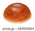 パン あんパン 水彩のイラスト 46990864