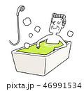 入浴 風呂 リラックスのイラスト 46991534