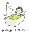 ベクター 入浴 風呂のイラスト 46991538