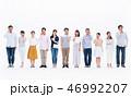 人々 スマホ 携帯の写真 46992207