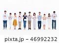 スマホ スマートフォン 人物の写真 46992232