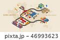 グローバル 物流 流通のイラスト 46993623
