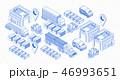 貨物 運送 物流のイラスト 46993651