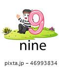 9 9 画伯のイラスト 46993834