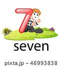 7 7 7個のイラスト 46993838