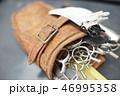 シザーケース 革製 perming 写真素材 46995358