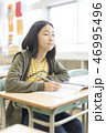 小学校イメージ 勉強する子ども 46995496