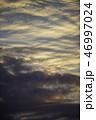 夕日 夕焼け 雲の写真 46997024