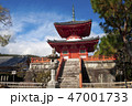 京都 大覚寺 心経宝塔 47001733