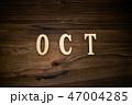 OCTと書かれた木製の小物 47004285