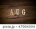 AUGと書かれた木製の小物 47004304
