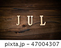 JULと書かれた木製の小物 47004307