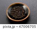 ブラックペッパー ペッパー 黒胡椒の写真 47006705