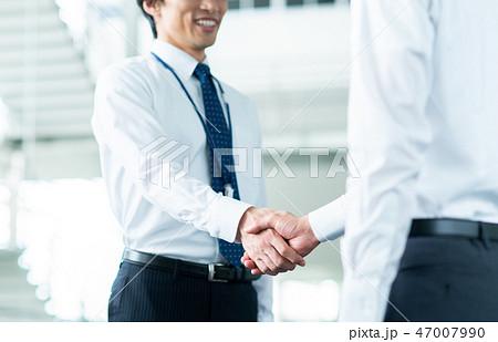 握手 47007990