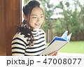 女性 ライフスタイル 読書 47008077