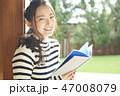 女性 ライフスタイル 読書 47008079