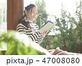 女性 ライフスタイル 読書 47008080