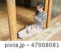 女性 ライフスタイル スマートフォン 47008081
