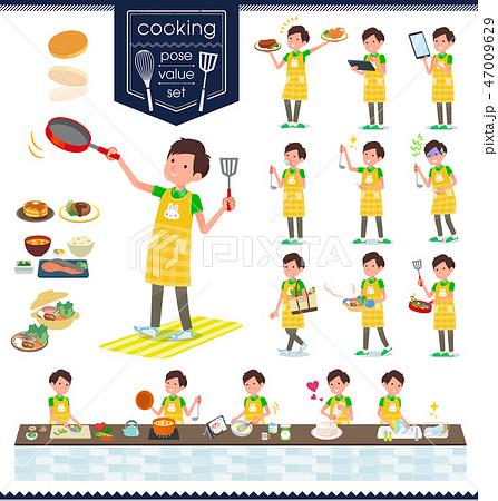 flat type Childminder men_cooking 47009629