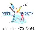 Winter Sports Concept 47013464