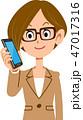 電話 ビジネス スマートフォンのイラスト 47017316