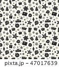 クリスマス シームレス パターンのイラスト 47017639