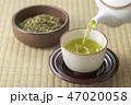 お茶 緑茶 日本茶の写真 47020058