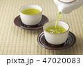 お茶 緑茶 日本茶の写真 47020083