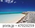 下地島空港RW17エンド周辺の海とビーチ 47020259