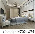 ベッド 寝台 寝床のイラスト 47021874