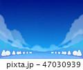 背景素材 野外イベント 冬(夜) 47030939