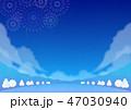 背景素材 野外イベント 冬(夜) 47030940