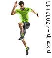 ランナー ランニング ジョガーの写真 47032143