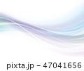 背景 波 流れのイラスト 47041656