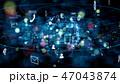ネットワーク 47043874