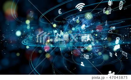 ネットワーク 47043875